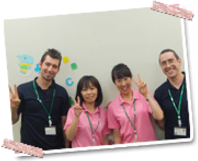 講師は外国人と日本人